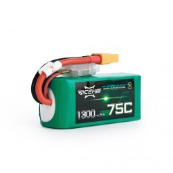 Acehe 1300mAh 14.8V 75C 4S1P Lipo Battery Pack