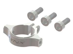 180CFX - Ultra Tail Boom clamp - Silver