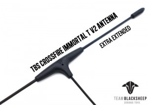TBS Antena Crossfire Immortal T V2 antenna Extra Extended 220mm